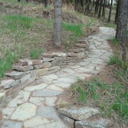 Stone Paving pathway